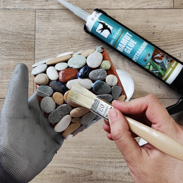 Bostik DIY Greece tutorial Flower Pots step 18