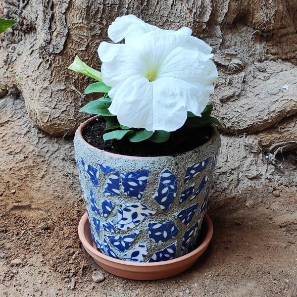 Bostik DIY Greece tutorial Flower Pots step 8