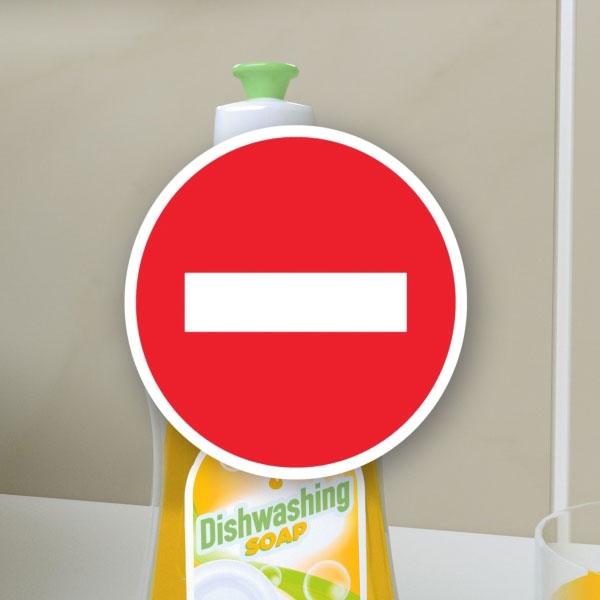 Bostik DIY Lithuania tutorial smoothing spray vs dishwashing soap step 1