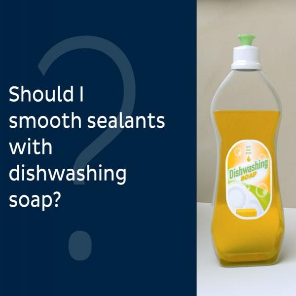 Bostik DIY Ukraine tutorial smoothing spray vs dishwashing soap teaser image