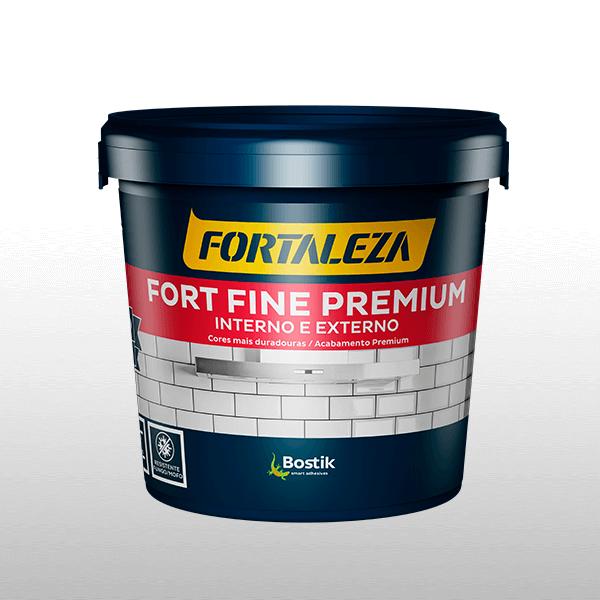 Bostik DIY Brasil rejuntes fort fine premium