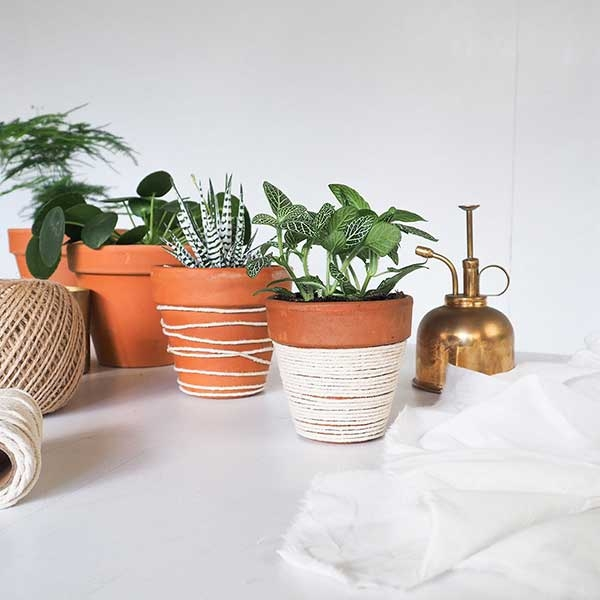 Bostik DIY Romania tutorial create plant pots step 5