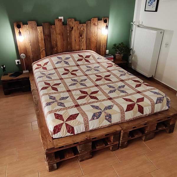 Bostik DIY Greece tutorial bed image 18