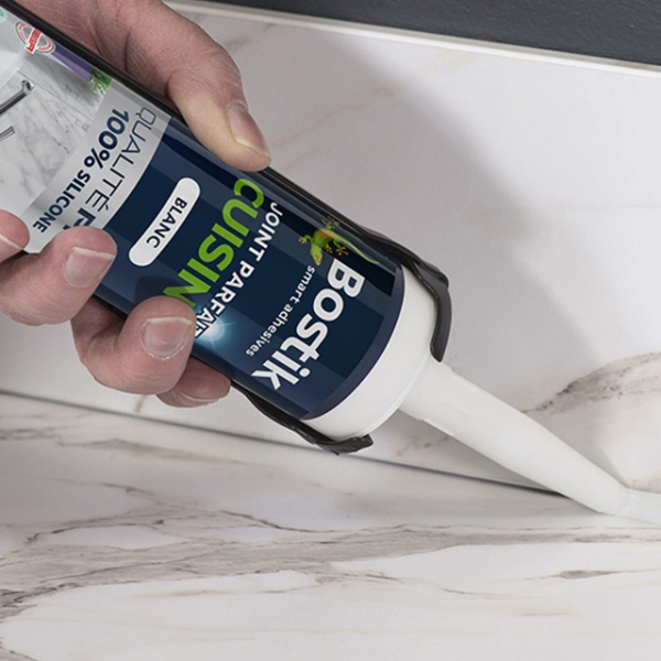 Bostik DIY Lithuania tutorial how to seal a worktop teaser image