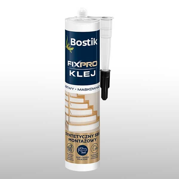 Bostik DIY Poland Fixpro stair teaser image