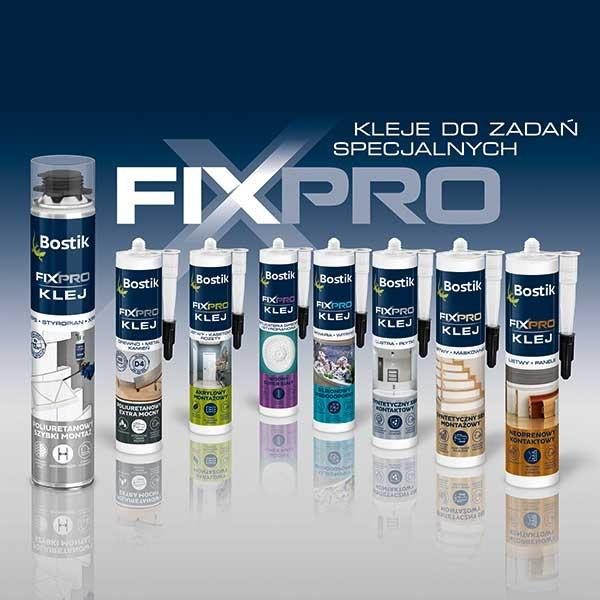 Bostik DIY Poland Fixpro range teaser image